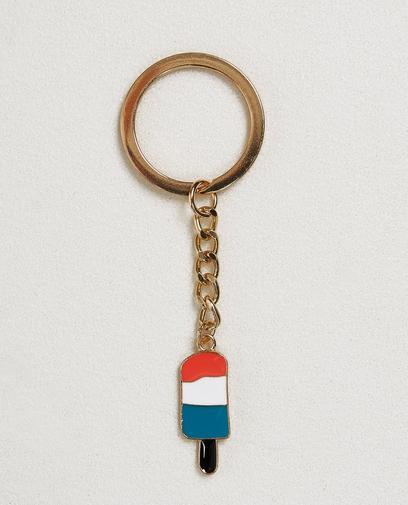 Goldfarbener Schlüsselanhänger